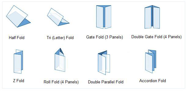 letter fold brochure