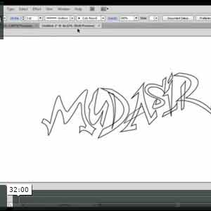 How to Design Graffiti Text