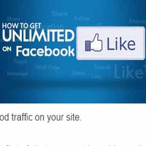 UNLIMITED FACEBOOK LIKES