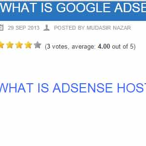 What is Google Adsense Hosted Account
