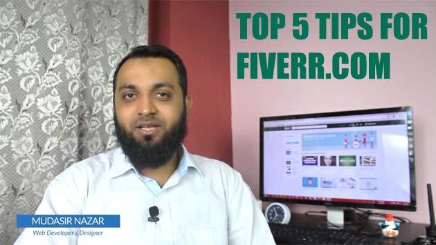Top 5 Tips for fiverr.com